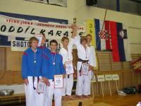Kata team 1.místo